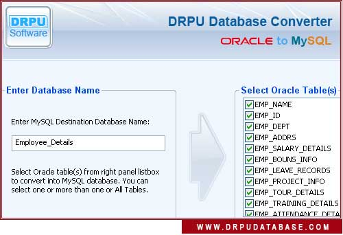 Windows 7 Oracle to MySQL 4.0.1.6 full